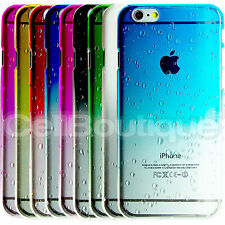 New Hard Back Raindrop Case Cover for Apple iPhone with FREE Screen Protector