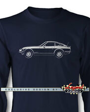 Datsun 240Z 260Z 280Z Coupe Long Sleeves T-Shirt - Multiple Colors and Sizes