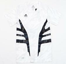 Adidas TechFit Climacool White Short Sleeve Compression Athletic Shirt Mens NWT