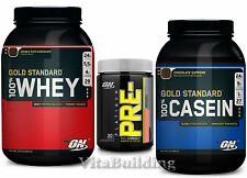 Gold Standard Whey Casein Combo with Platinum Pre TA, Optimum Nutrition, Protein