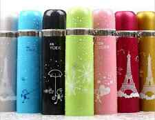 New Fashion portable Stainless steel vacuum Vacuum cup thermos flask 16 style