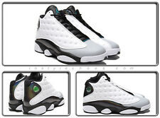 Nike Air Jordan 13 XIII Retro Hologram Barons 414571-115 White Black Wolf Grey