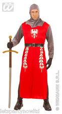 KING ARTHUR CAMELOT HISTORICAL KNIGHT ROYALTY MEDIEVAL MENS FANCY DRESS COSTUME