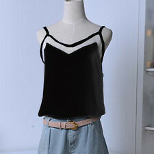 XD0062 Sexy Women New Spaghetti Strap Sling Cami Casual Vest Tank Top shortShirt
