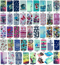 Fashion Flip Wallet Lovely Pattern PU Leather Stand Case Cover For Nokia phone L