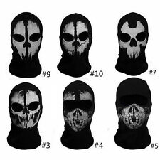 Call of Duty Ghost Skull Face Mask Cosplay Balaclava Skateboard Bike Hood