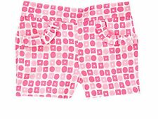 GYMBOREE NWT MERMAID PARTY SEASHELL  SWEETIE PINK GEO GIRLS SHORTS  SIZE 3T, 5T