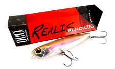 "DUO REALIS PENCIL 110 TOPWATER 4 3/8"" 3/4oz BASS FISHING LURE SELECT COLOR"