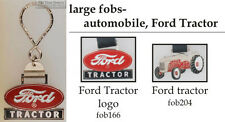 Ford tractor fobs, various designs & keychain options