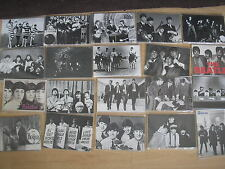 THE BEATLES B/W POSTCARDS - OFFICIAL PRODUCTS *NEW* 20 DESIGNS TO CHOOSE FROM