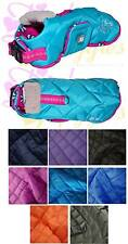 CHIHUAHUA/SMALL DOG/PUPPY Quilted HARNESS COAT *Lots of Colours & Sizes*