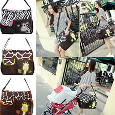 Q 3 in 1 Baby Diaper Nappy Changing Bag Changing Mat Mummy Tote Handbag Function