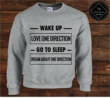 Wake Up Love One Direction Sweater Top | 1D Harry Styles Nial Zayne Tour Fan