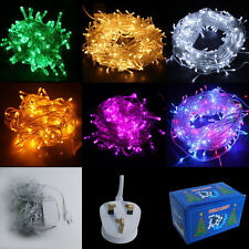 Outdoor 10/20/30M 100/200/300LED Christmas String Fairy Lights Led Bulbs 8 Mode