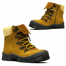 Boys Kids Childrens Infants Winter Zip Up Girls Warm Ankle Snow Boots Shoes Size