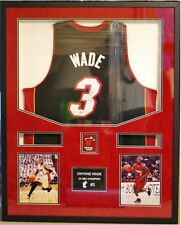 32x40 Custom Framing Frame Autographed Jersey Choose school color or Suede Mat