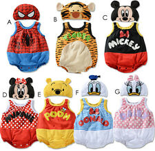 Disney-Baby Boys Girls Animals Costume Bodysuit Outfit Romper Clothes Set 3-24M