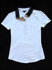 NWT TOMMY HILFIGER WOMENS DOT COLLAR POLO
