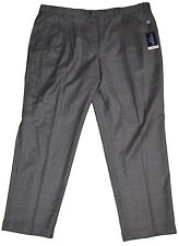 Men's Chaps Suit Separates Gray Pleated Dress Pants Sizes 36X36, 46X32