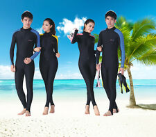 New Diving Skin Scuba Snorkeling Diving Suit Long Sleeves Dive Skin Jumpsuit