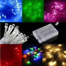 Waterproof Twinkling Lamp Fairy String Lights 7/13ft 20/40 LED Battery Operated