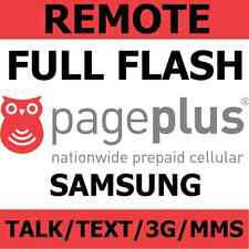 [REMOTE] Flash Samsung Galaxy Note 2, Note 3 to Page Plus - Talk/Text/3G/MMS