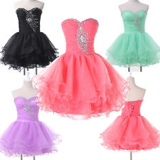 SUPER CHEAP~ Short Masquerade Bridesmaids Prom Party Evening Formal Ball Dresses