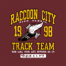 New T-Shirt Raccoon City Track Team Video Console PC Gamers OffWorld Designs