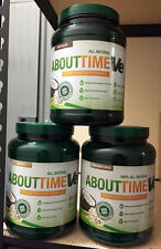 SDC Nutrition ABOUT TIME VE vegan CHOOSE FLAVOR Protein Formula 2lbs 32 servings