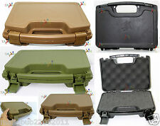 Airsoft Gun Case Plastic Pistol BB Gun Carry Box Holder Outdoor Game Accessories