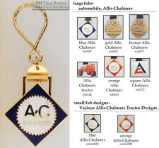 Allis Chalmers tractor fobs, various designs & keychain options