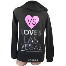 Victoria's Secret VS Loves Las Vegas Bling Sequins Supermodel Hoodie Jacket New