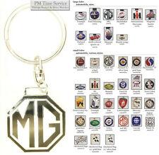 Auto, motorcycle, & tractor fobs, various designs & keychain options
