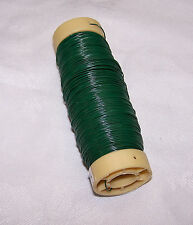 New Florist Spool Wire Green 1/2 pound 20/21/22/23/24/26/28/30 Gauge Choice