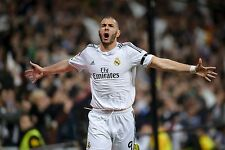 Karim Benzema - Real Madrid - A1/A2/A3/A4 Poster / Photo Print