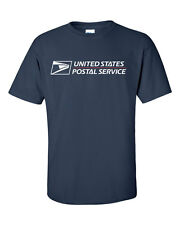 USPS POSTAL T-SHIRT DARK NAVY FULL 2 COLOR POSTAL LOGO ON CHEST ALL SIZES S - 6X