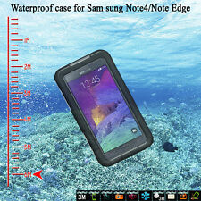 New 6M Waterproof Shockproof Dirt SnowProof Case Cover For Samsung Galaxy Note 4