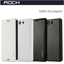 ROCK® Smart Thin Flip Wallet Leather Case Cover for Sony Xperia Z3 Compact /Mini