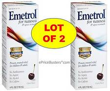 Emetrol for Nausea & Upset Stomach, Cherry - Safe for adults and children