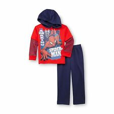 Marvel  Spider Man Toddler Boy's Hoodie & Pants Size 2T,  3T, 4T, 5T NEW