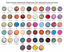 PICK YOUR COLOR Eye Shimmer Ultimo Minerals Bare Pigment A-M NEW LARGER SIZE!