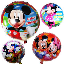 "Disney Mickey Mouse Clubhouse ""18"" Happy Birthday Balloon Set Party Decoration"