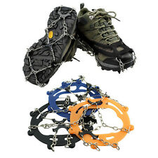 Ice Snow Anti Slip Spikes Grippers Grips Cleats Over Shoes Crampons Shoe Boots