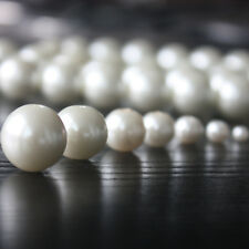 Charm Round Beads Glass Spacer Pearls Milk white Color Superior Quality pearl