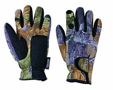 Jack Pyke Camouflage Stretch Tight Fit Neoprene Shooting & Wildfowling Gloves
