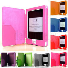 Magnetic Flip PU Leather Case Cover Shell Protector Super Light For Kobo Glo DG