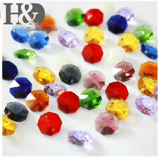 14MM  Crystal Octagonal Beads Decoration Crystal Chandelier Parts Light Parts