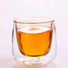 1/2pcs Trapezoidal Glass Milk Cup Tea Cup Coffee Shot Glass Juice Water Drinking