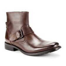 Kenneth Cole Buckled Up Leather Buckled Boot