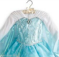 AUTHENTIC DISNEY STORE DELUXE FROZEN ELSA COSTUME DRESS 4 5/6 NWT